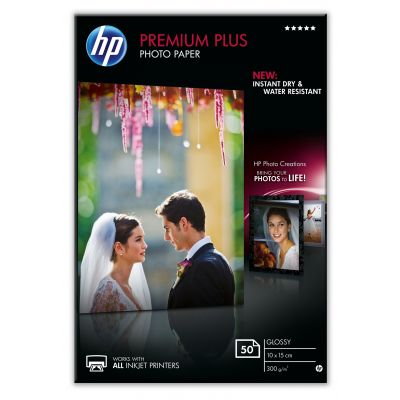 Paber HP CR695A Semi-Glossy Photo Paper 50l 10x15 300gr/m2