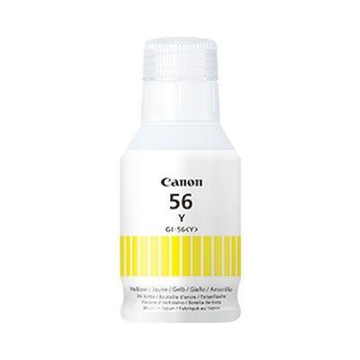 Tint Canon GI-56Yellow kollane Ink refill Bottle 135ml 14000lk GX6050 GX7050
