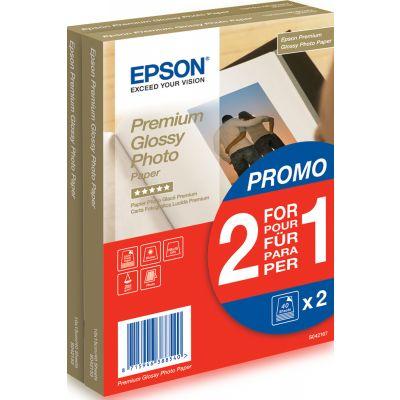 Paber Epson Premium Glossy Photo Paper 10x15cm 2x40lehte 255g/m2 S042167