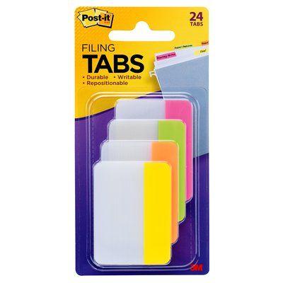 POST-IT järjehoidja 686PLOY tugev,roosa, roh, oranz,kollane, x6tk, 50,8x38mm