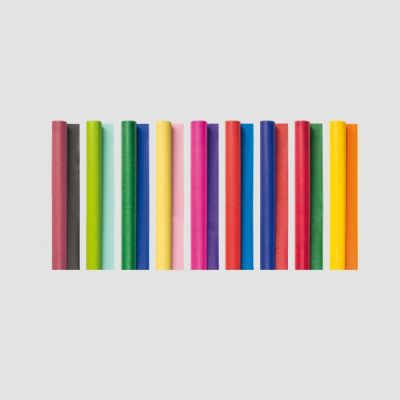 Raamatupaber 70x200cm,  erinevad värvid, Brunnen