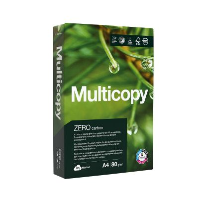 Koopiapaber A4 80g Multicopy Zero 500lehte/pk