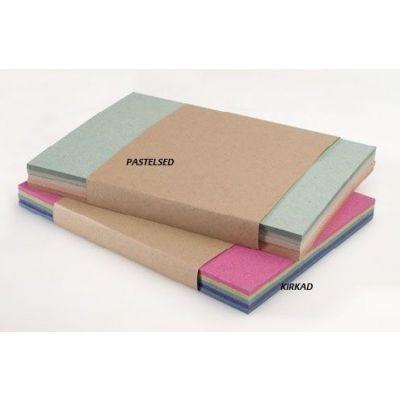 Käsitöökartong kirkad värvid 300g A4 20lehte pakis Räpina