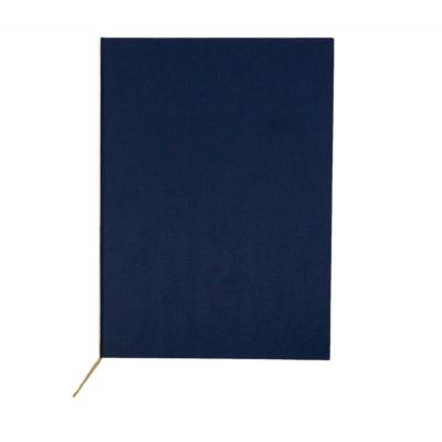 Kaaned diplomile A4 sinine Olimpic, kerge riide imitatsiooniga, kuldpael