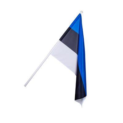 Majalipp Eesti õhuke 105x165cm + puitvarras ümara otsikuga
