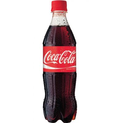 Coca-Cola 0,5l (plast) pudeli hinnale lisandub  pandipudeli summa 0,10 EUR