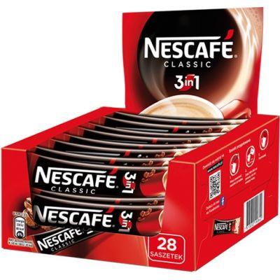 Lahustuv kohv Nescafe Classic 3in1  28*17,5g (kohv,piim,suhkur)