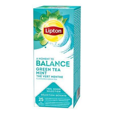 Roheline tee Lipton Green Mint 1,6g*25 tk/pk  (fooliumümbrik)