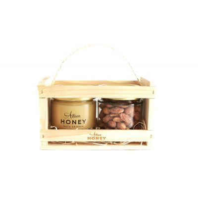 Õiemesi 300g + pähklid mee ja soolaga 110g  lipikarbis, Artisan Honey