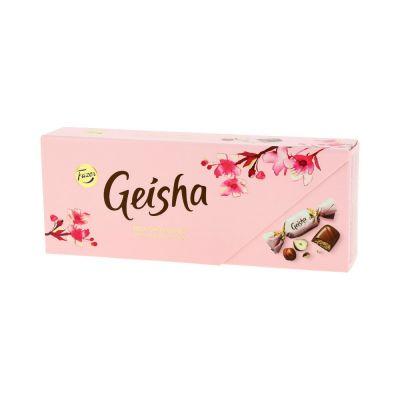 Kommikarp Karl Fazer Geisha piimašokolaadikommid pähklikreemitäidisega 270g