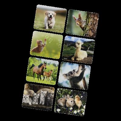 Hiirepadi Hama Animal/loomapilt - Silk mouse pad, libisemiskindel kummipõhi, optilisele hiirele