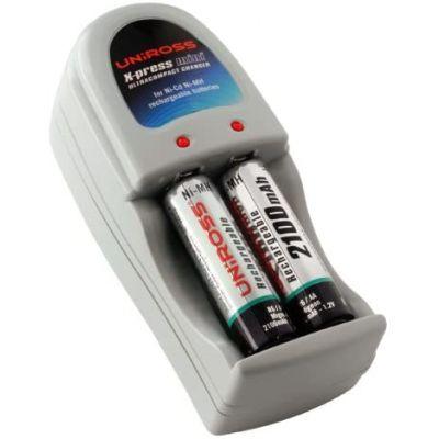Akulaadija Uniross X-Press charger, 2 x NI-MH 2000mAh