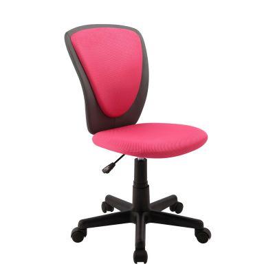 Töötool BIANCA 27793/ max 100kg/ roosa võrkkangas-tumehall kunstnahk+must