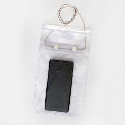 Kiletasku tõmblukuga dokumentidele ja telefonile Prolexplast, niiskus- ja tolmukindel