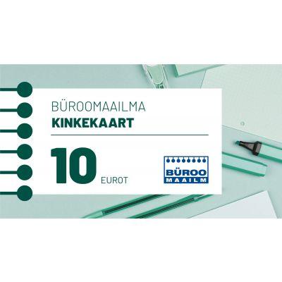 Kinkekaart Büroomaailm 10 EUR