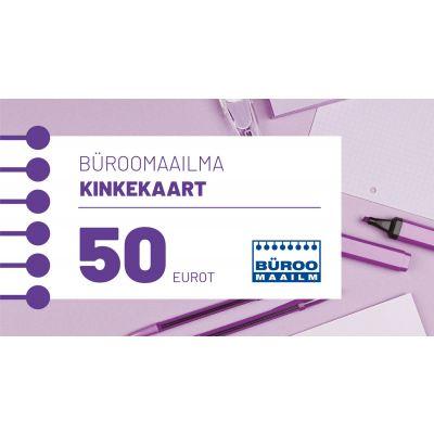 Kinkekaart Büroomaailm 50 EUR