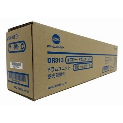 Trummel Konica Minolta DR-313 Y/M/C Drum Unit for YMC one color approx.C258 55K / C308 75K /C368 90K / C458