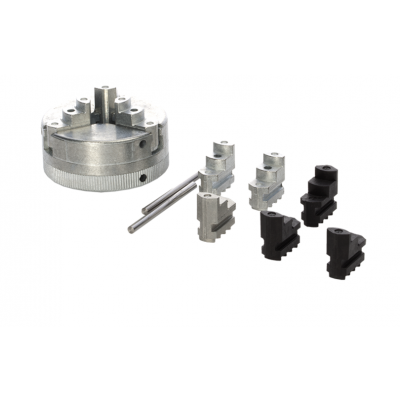 3 Jaw Chuck with Spare Jaws