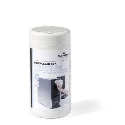 Puhastuslapid kõvadele pindadele Durable Superclean cleaning tissues, 100tk topsis
