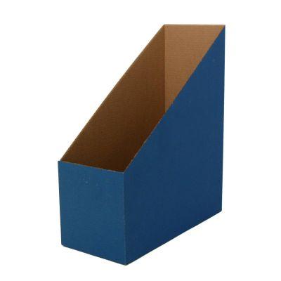 Dokumendikast A4, 300x245x115 cm, kartong ,sinine, püstine,SMLT