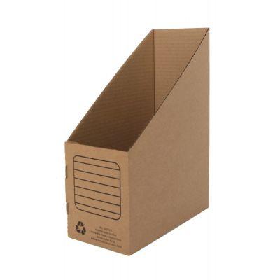 Dokumendikast A4, 330x250x120mm, kartong pruun, ,püstine,SMLT