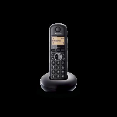 Telefon Panasonic KX-TGB210FXB tume, DECT, numbrinäit, ühe toruga