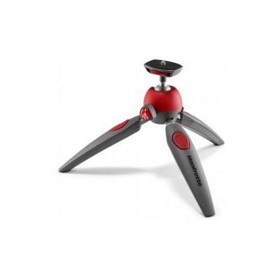 Statiiv Manfrotto Pixi Smart, kuulpea, nutitelefoni adapteriga, kandevõime kuni 1kg, kokkuvoldituna 24.7cm,