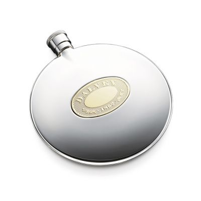 Taskupudel Classic kuldse detailiga, d 118mm, 125ml, Dalvey