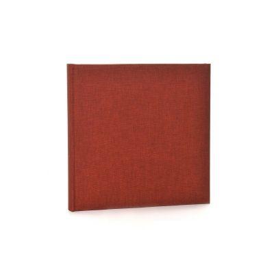 Fotoalbum klassikalise lehega Summertime,tumepunane,25x25cm, sisaldab 60 valget lehekülge. G 24.707