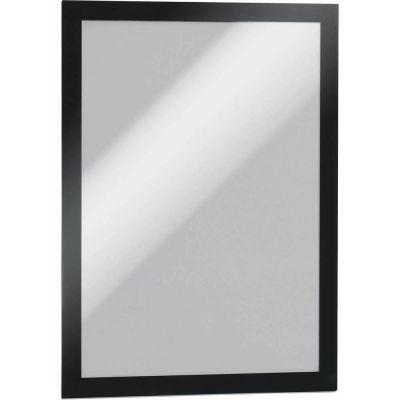 Magnetraam DURAFRAME A4 magnetraamiga iseliimuv 4872-01 Durable, must raam, 2tk/pk.