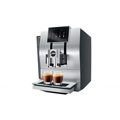 Espressomasin Jura Z8 Aluminium, väviline TFT-ekraan