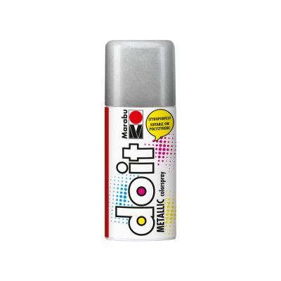 Aerosoolvärv do it Metallic 150ml 782 silver