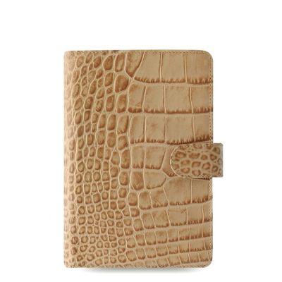 Filofax - Classic personal Croc Fawn (beež)