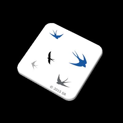 Puhastuslapp Pääsuke (Swallows) 25x25mm