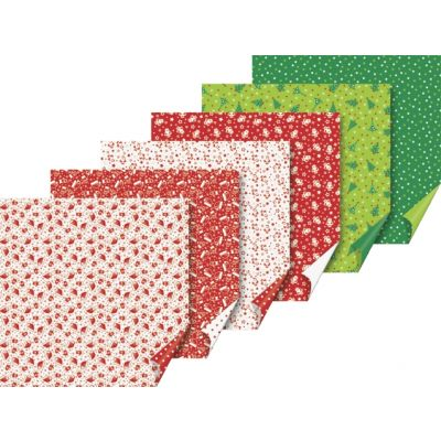 K0064812_1_Origami_paber_Jouluvana_ja_Kuusk_30lehte_15x15cm_60gm2_Heyda