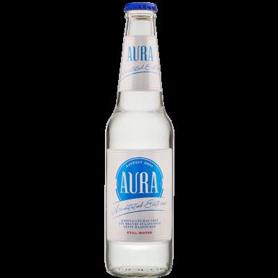 Vesi Aura 0,33l. gaasita, klaaspudel