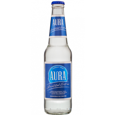 Vesi Aura 0,33l. gaasiga, klaaspudel