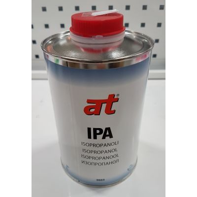 Isopropüülalkohol IPA 1L AT-IPA, eemaldab rasvad, õli, mustuse, tolmu ja vaigu