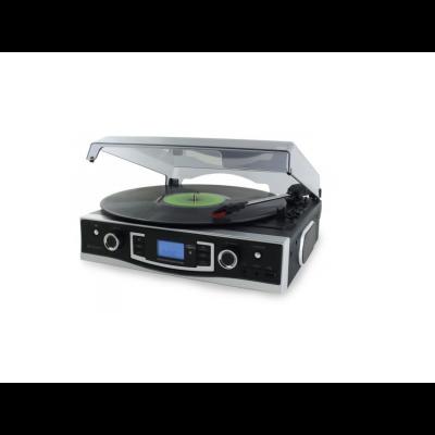 Plaadimängija Soundmaster PL525, vinüülplaat (LP), FM-raadio, USB, MP3