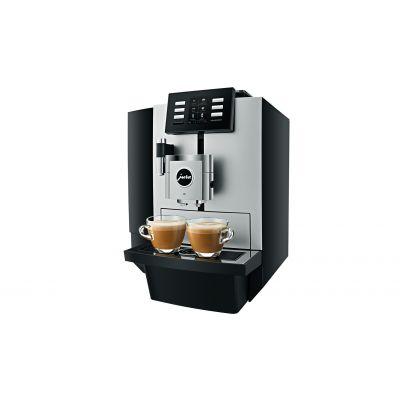 Espressomasin Jura X8 Platinum; Oakont.500gr, Veepaak 5L, kohvipaksusahtel 40p. (kuni 80 kohvi päevas)