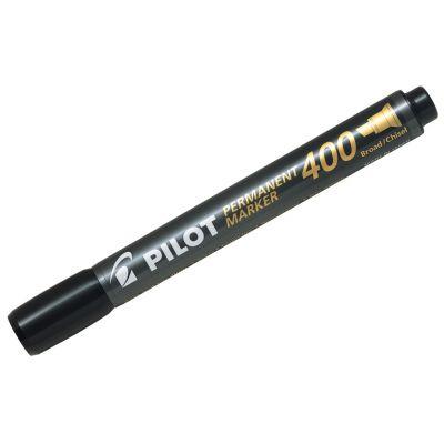 Marker permanent Pilot 400 - FINE 4 mm lõigatud otsaga - must