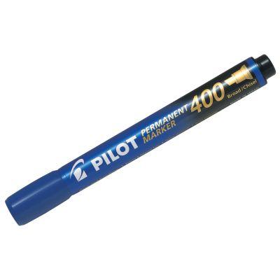 Marker permanent Pilot 400 - FINE 4 mm lõigatud otsaga -sinine