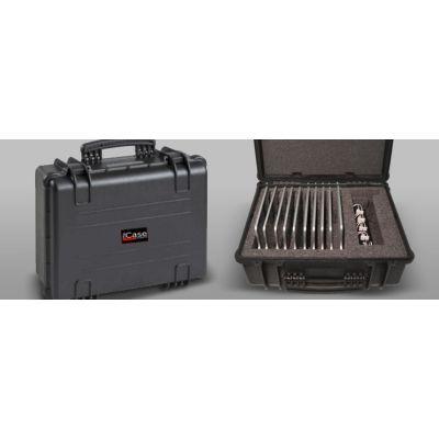 Tahvelarvutite transpordi- ja laadimiskohver, 10 tahvlile