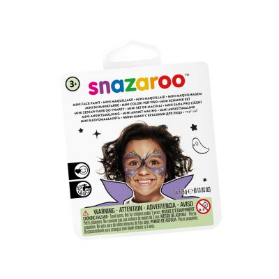 Näovärvide komplekt Witch Snazaroo mini 3värvi+pintsel+svamm