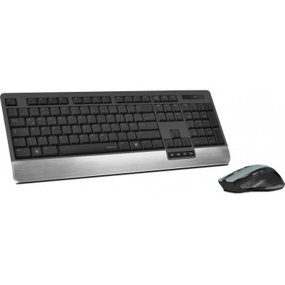 Klaviatuur+hiir Speedlink klaviatuur Lucidis Nordic, must SL-640300-BKNC