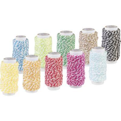 Dekoratiivnöör  erinevad värvid 20m, Knorr-Prandell