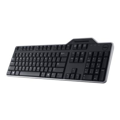 Klaviatuur Dell KB-813 SmartCard USB Keyboard Black/must ID-kaardilugejaga RUS
