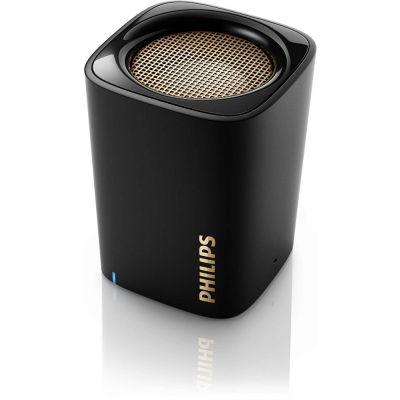 Kõlar Philips BT100Black must Bluetooth 2W