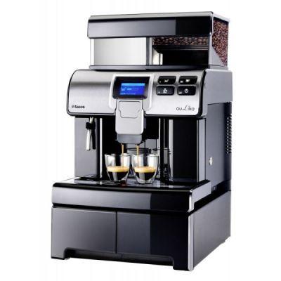 Espressomasin Saeco Aulika Office (ainult must kohv) - 4L/1kg/40 (kuni 60 kohvi päevas)
