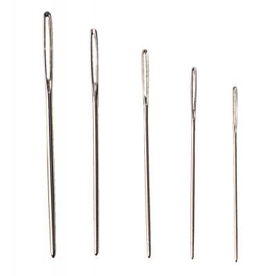 Tikkimisnõel tömp ristpisteks, nr 18 silm 10 mm, pikkus 45 mm, 25 tk